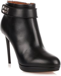 Givenchy - Black Shark-lock Ankle Boot Us - Lyst