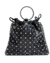 Balmain - Blink Black Studded Backpack - Lyst