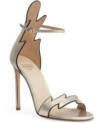 Francesco Russo - Metallic Gold 105 Flame Sandals - Lyst