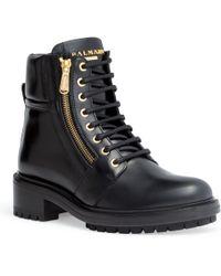 Balmain - Army Ranger 40 Black Lace-up Boots - Lyst