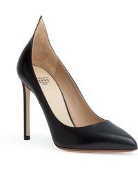 Francesco Russo - Black 105 Leather Court Shoes - Lyst