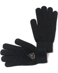Guess - Knit Gloves - Lyst