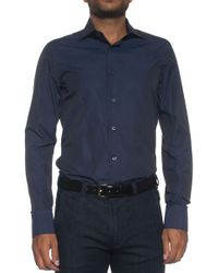 Canali - Dress Shirt - Lyst