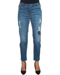 Pennyblack - 5 Pocket Jeans With Cuttings - Lyst