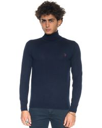 U.S. POLO ASSN. - Wool Jumper - Lyst