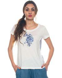 U.S. POLO ASSN. - Charlene Tee Ss T-shirt - Lyst