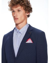 Scotch & Soda - Printed Pocket Square - Lyst