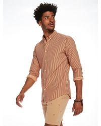 Scotch & Soda - Seersucker Shirt Regular Fit - Lyst