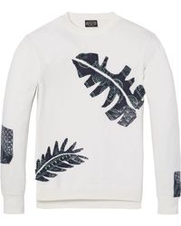 Scotch & Soda - Embroidered Sweatshirt - Lyst