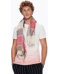 Scotch & Soda - Square Fringed Scarf - Lyst