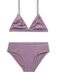 Scotch & Soda - Rib Knitted Underwear Set - Lyst