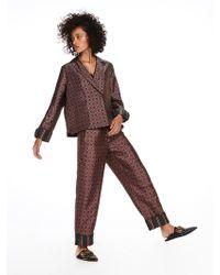 Scotch & Soda - Wide Pyjama Pants - Lyst