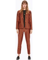 Scotch & Soda - Mutli-colored Striped Blazer - Lyst