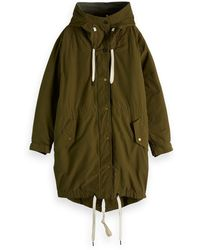 Scotch & Soda - Layered Military Parka - Lyst