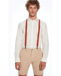Scotch & Soda - Two-tone Suspenders - Lyst