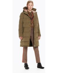 Scotch & Soda - Quilted Parka - Lyst