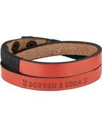Scotch & Soda - Detailed Bracelet - Lyst
