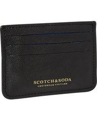 Scotch & Soda - Leather Card Holder - Lyst