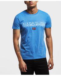 Napapijri - Sapriol Core Short Sleeve T-shirt - Lyst