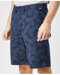 Pretty Green - Foxley Paisley Short - Lyst