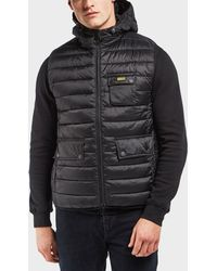 Barbour - International Ouston Padded Gilet - Exclusive - Lyst