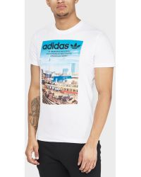 adidas Originals - Berlin City T-shirt - Lyst