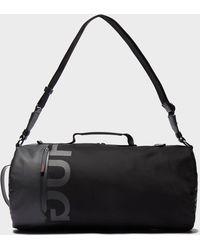 f3959310d9 Jack Spade Tech Nylon Gym Duffel Bag in Black for Men - Lyst