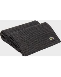 Lacoste - Croc Scarf - Lyst