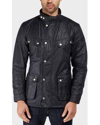 Barbour - International Duke Wax Lightweight Jacket - Lyst