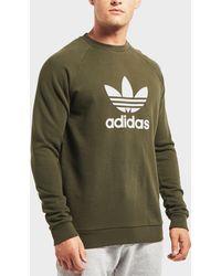 adidas Originals - Trefoil Crew Sweatshirt - Lyst