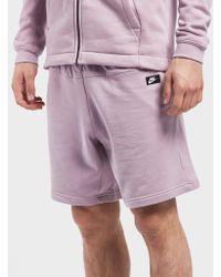 Nike - Modern Fleece Shorts - Lyst