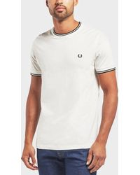 Fred Perry - Twin Tipped Short Sleeve T-shirt - Lyst