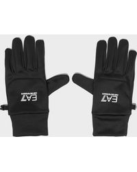 EA7 - 7 Lines Glove - Lyst