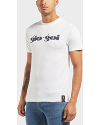 Gio Goi - Large Logo Short Sleeve T-shirt - Online Exclusive - Lyst