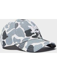 5aebcf316d6 Lyst - Adidas Originals Logo Print Cap in White for Men