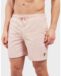 Lyle & Scott - Plain Swim Shorts - Lyst