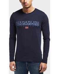 Napapijri - Sapriol Long Sleeve T-shirt - Exclusive - Lyst