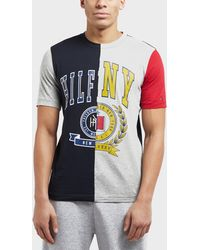 a4acff32dae38 Tommy Hilfiger Maddock Colour Block T-shirt in Blue for Men - Lyst