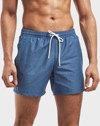 Lacoste - Basic Swim Shorts - Lyst