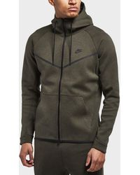90cef1424f Nike - Tech Fleece Windrunner Full Zip Hoodie - Lyst