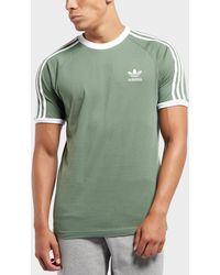 937a934f95b Adidas Originals California Raglan Sleeve T-shirt in Green for Men ...