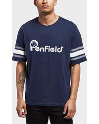 Penfield - Ringold T-shirt Blue - Lyst