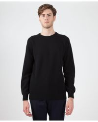 Sefton - Knitted Lambswool Jumper - Lyst