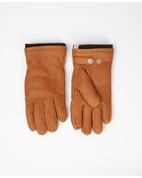 Norse Projects - Tobacco Norse Utsjo Gloves - Lyst