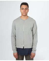 Sefton - Zip Through Sweatshirt - Lyst