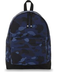 A Bathing Ape - Camouflage Nylon Backpack - Lyst