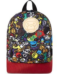 A Bathing Ape - Milo Canvas Backpack - Lyst
