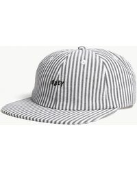Obey - Cypress Striped Cotton Snapback Cap - Lyst