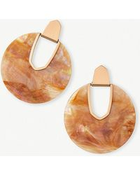 Kendra Scott - Diane Rose Gold Statement Earrings - Lyst
