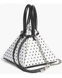 Nita Suri - Polka Dot Pyramid Mini Bag - Lyst